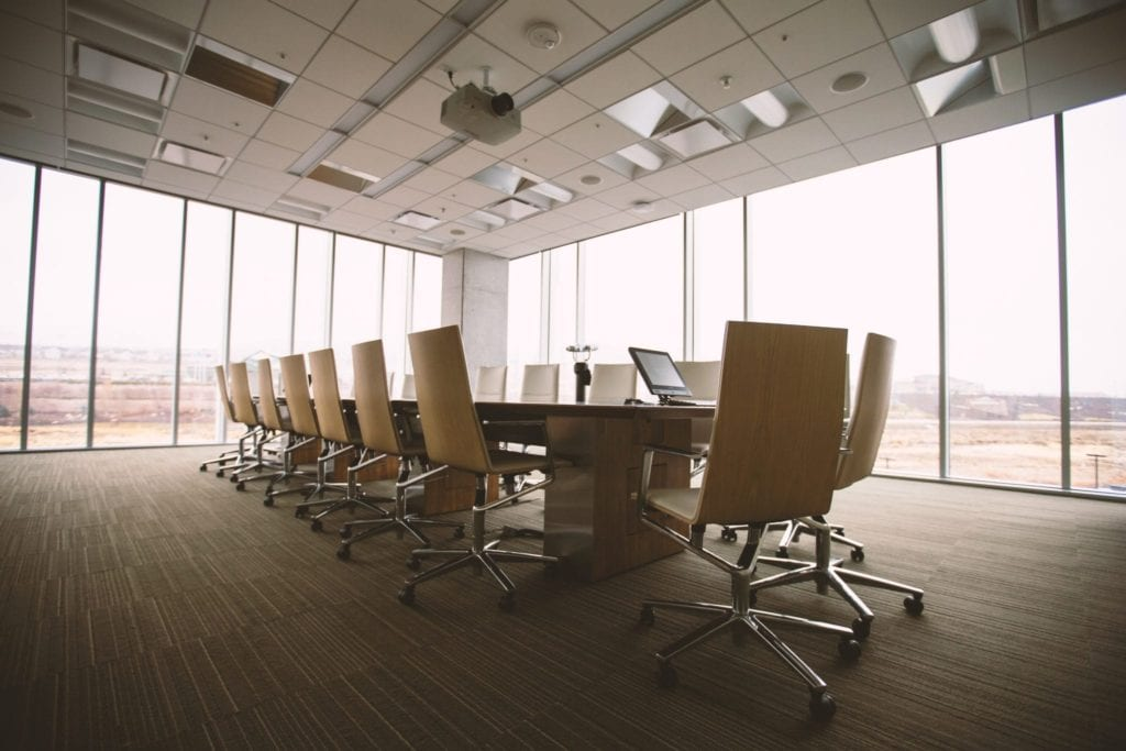 board of directors conference table