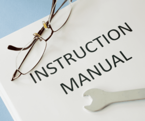 manual requiring technical writing